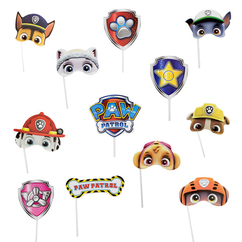 Photoprops Paw Patrol 12 pzs.