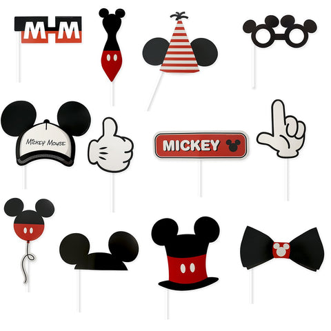 Photoprops Mickey 90´s 12 pzs.