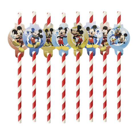 popote Mickey Mouse 8 pzs.