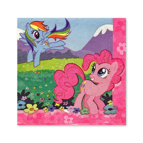 servilleta My Little Pony 16 pzs.