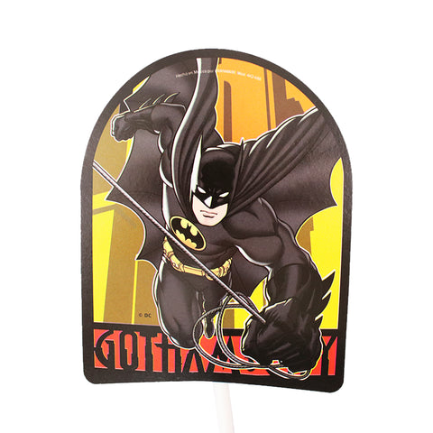 Toppers Decorativos de Batman 12 pzs.