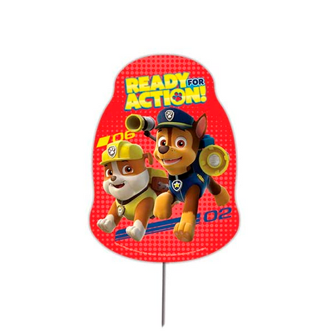 Toppers Decorativos Paw Patrol 12 pzs.