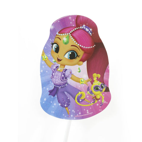 Toppers decorativos Shimmer y Shine 12 pzs.