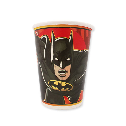 Vasos Batman 6 pzs.
