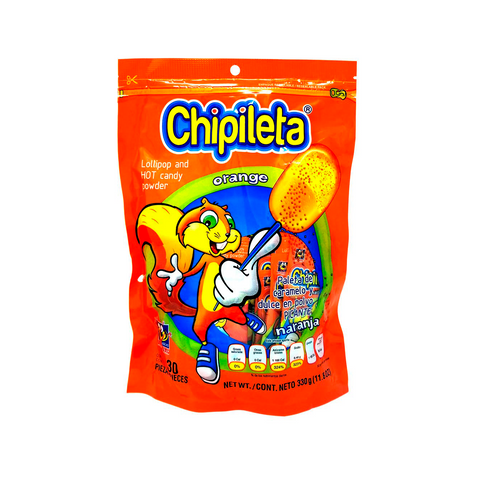 Chipileta Orange 30 pzs