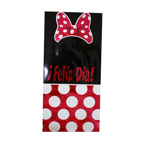 Festibolsa Minnie Mouse 25 pz