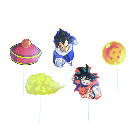 Photoprops dragon ball 12 pzs