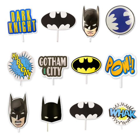 Photoprops Batman 12 pzs.