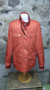 Manteau orange Calvin Klein XS