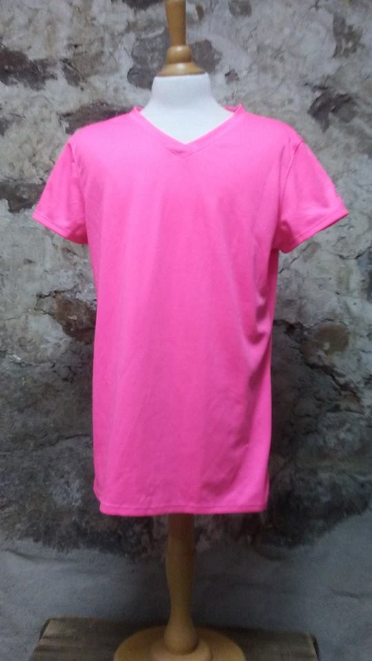 T-shirt rose New Balance M