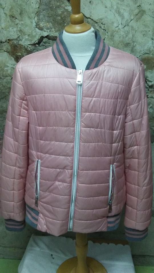 Manteau rose et gris de San Francisco M