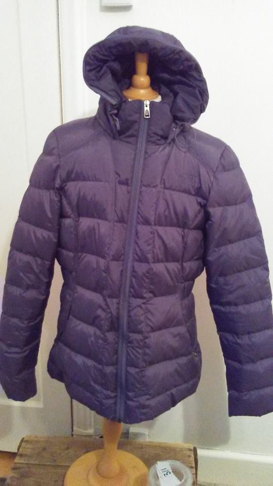Manteau mauve The North Face M