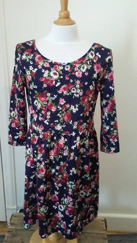 Robe florale Forever21 S