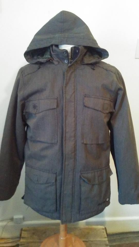 Manteau gris Element S