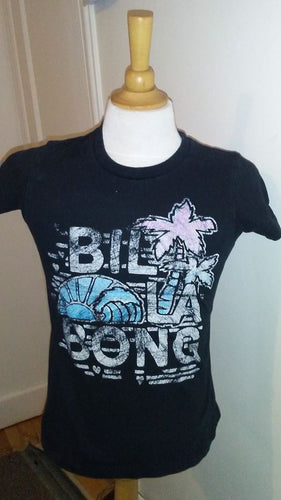 T-Shirt noir Billie Girls M