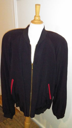 Manteau noir Moda In gr12