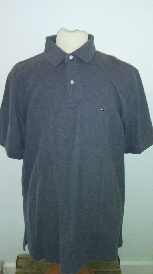Polo gris Tommy Hilfiger 2XL