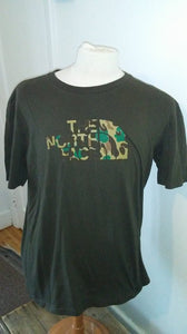 T-Shirt vert The North Face L