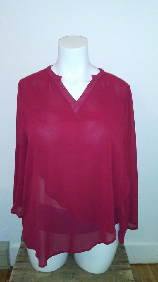 Chandail rouge Smys 4XL