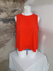 Camisole orange Cynthia Rowley 2x