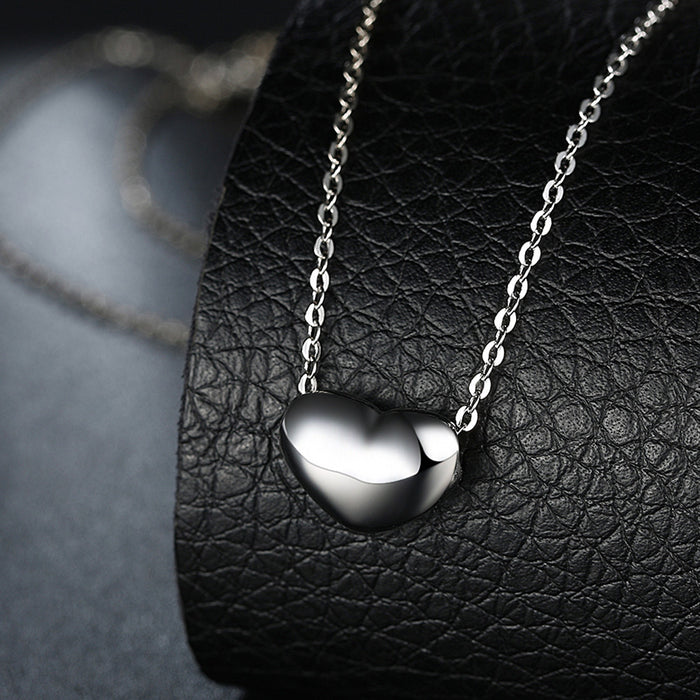 Necklace 18K Gold Plated Simple Heart
