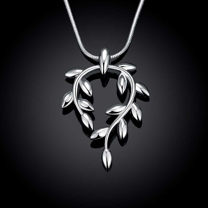 Necklace 18K White Gold Plated Brand of Life