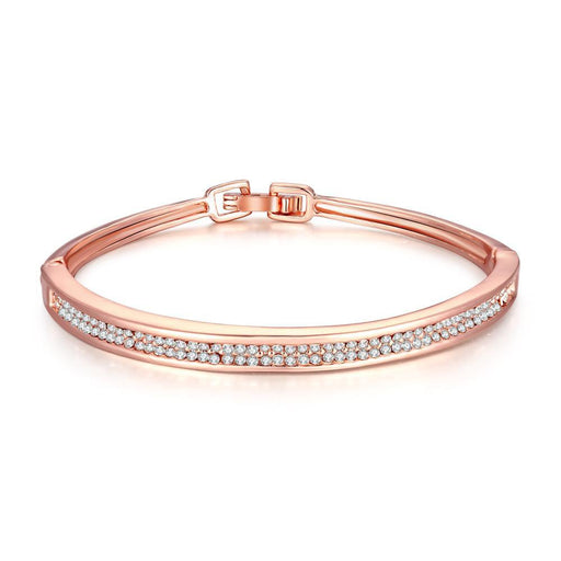Bangle 18K Rose Gold Plated Marie