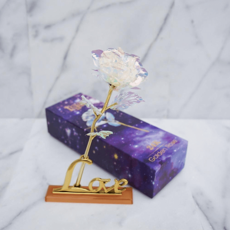 Galaxy Forever Rose Lovers Charm