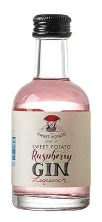 Raspberry Gin - The Sweet Potato Spirit Co