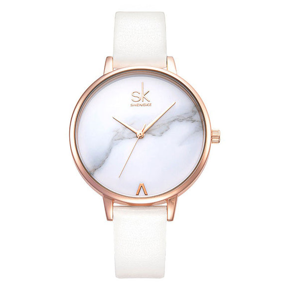 2019 Shengke top brand fashion ladies watch