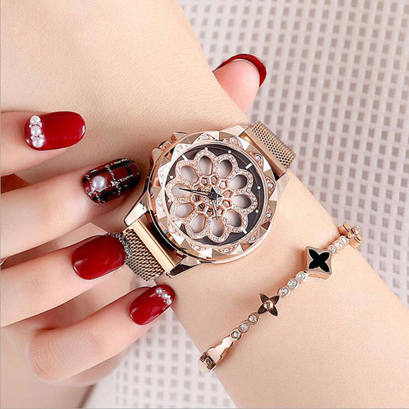 2019 High-Grade Waterproof Dazzling Tape Watch