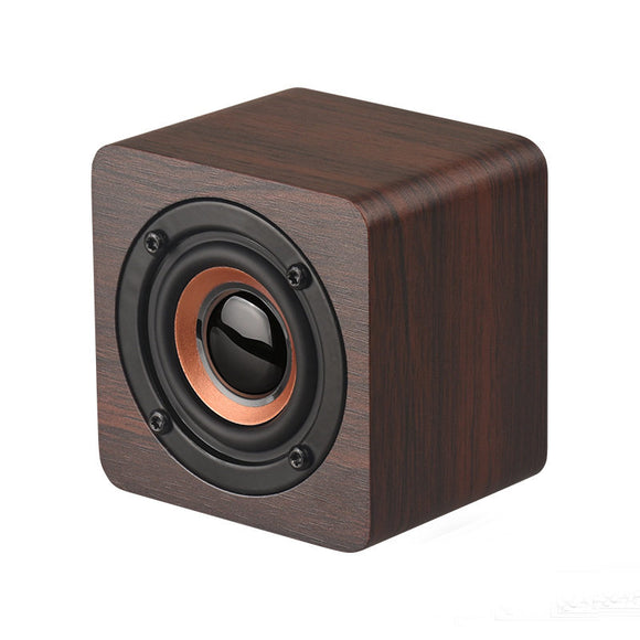 Wooden Finish Mini Portable Wireless Bluetooth Speaker Hunt Gizmo