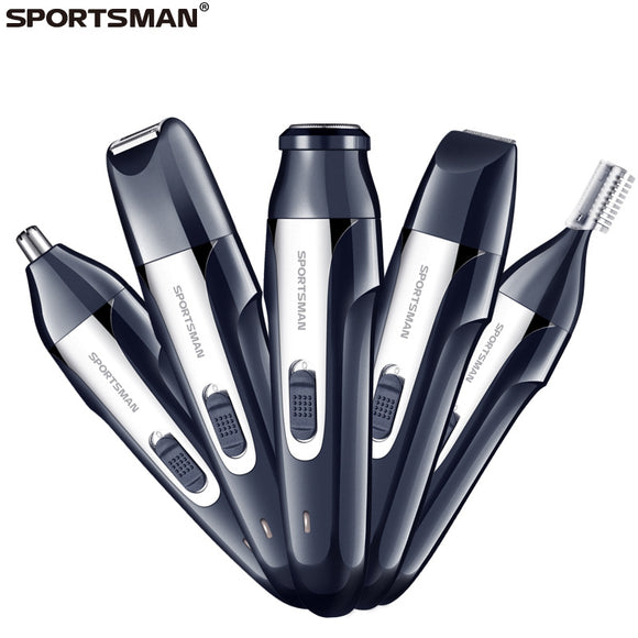Sportsman Usb Rechargeable Five-In-One Shaver Hunt Gizmo