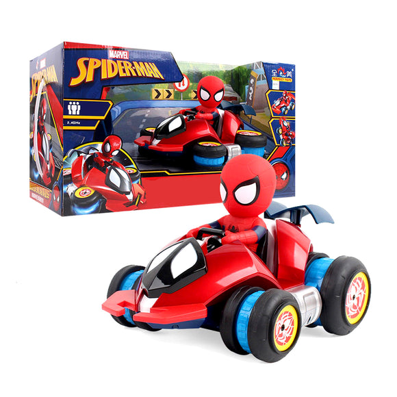High Speed Remote Control Spiderman Stunt Car- 15272 Hunt Gizmo