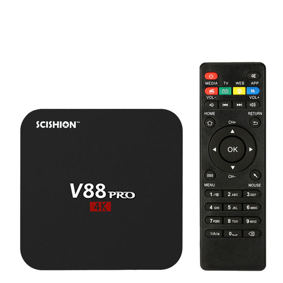 V88 Pro Android 7.1 4K Hd Tv Box Hunt Gizmo