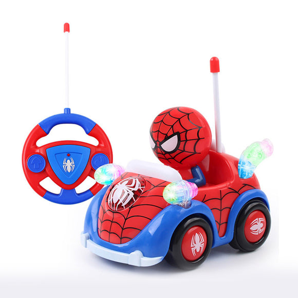 Captain America And Spiderman Remote Control Toy Car- 15273 Hunt Gizmo