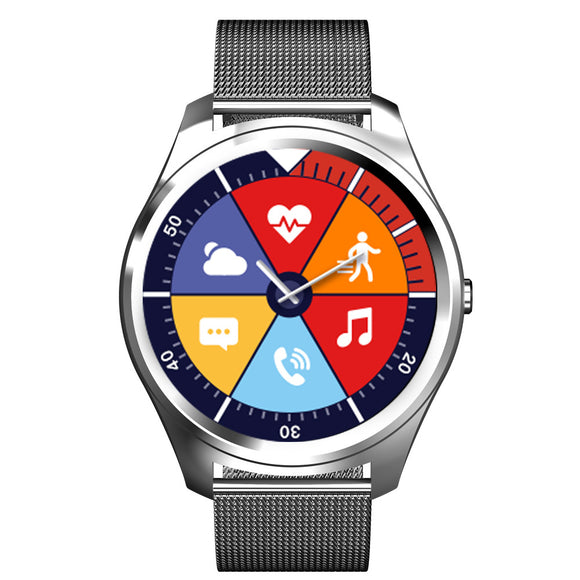 X8 Bluetooth Smart Watch With Heart Rate Monitoring & Step Tracker Hunt Gizmo