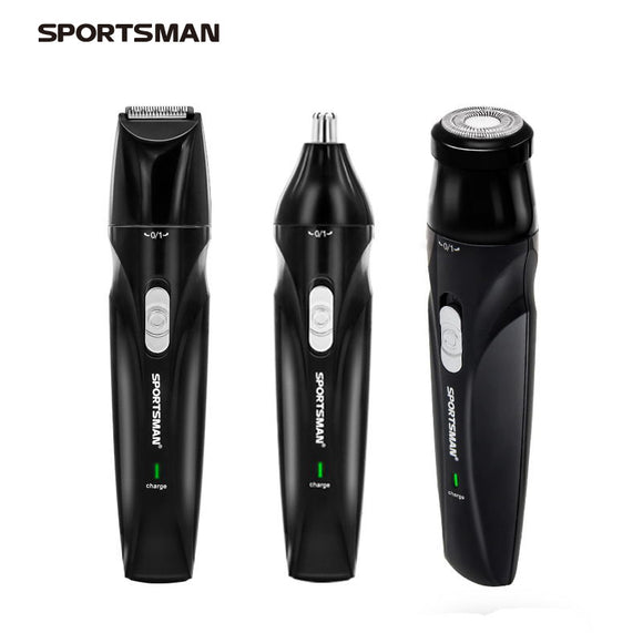 Sportsman Electric Usb Rechargeable Hair Trimmer Hunt Gizmo