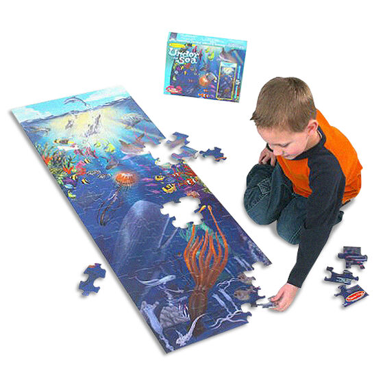 M&D Under the Sea Floor Puzzle 100pc