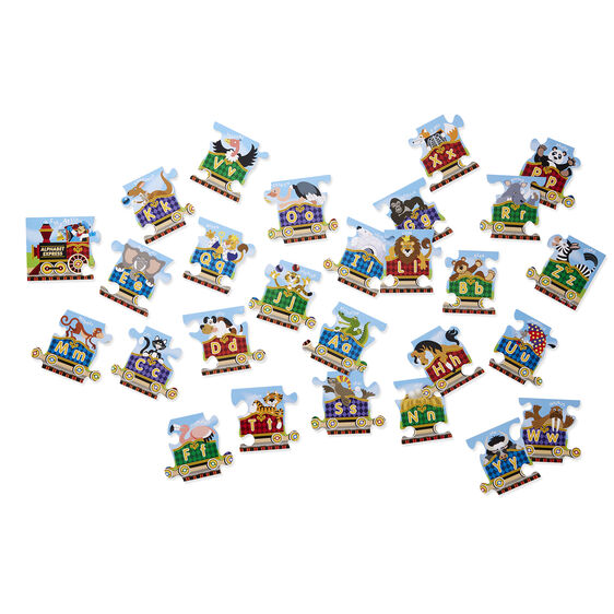 M&D Alphabet Express Floor Puzzle 27pc