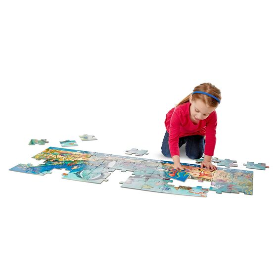 M&D Search & Find Beneath the Waves Floor Puzzle 48pc