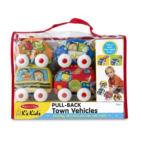 M&D Pull-Back Town Vehicles
