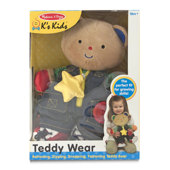 M&D Teddy Wear Toddler Learning Toy