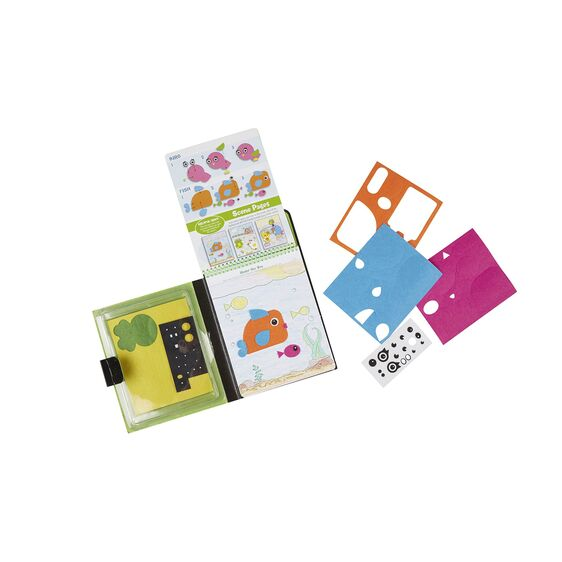 M&D On the Go Crafts - Felt Friends Stickers