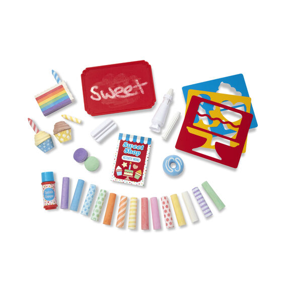 M&D Sweet Shop Chalk Set