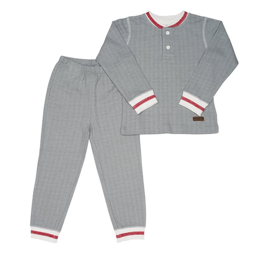 Juddlies Organic Cottage 2 piece PJs