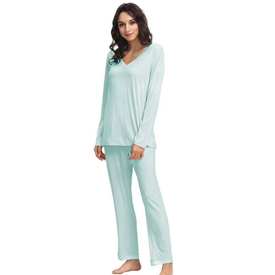 Daniadown Bamboo Long Sleeve PJ Set