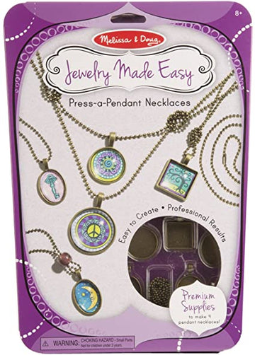 M&D Press-a-Pendant Necklaces