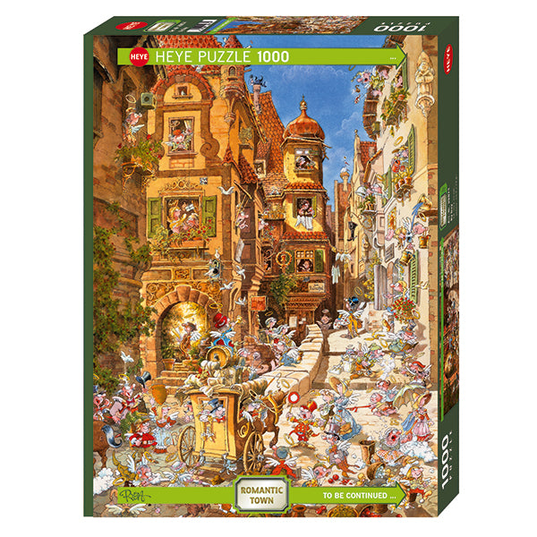 Puzzles- Day and Night 1000 Pcs