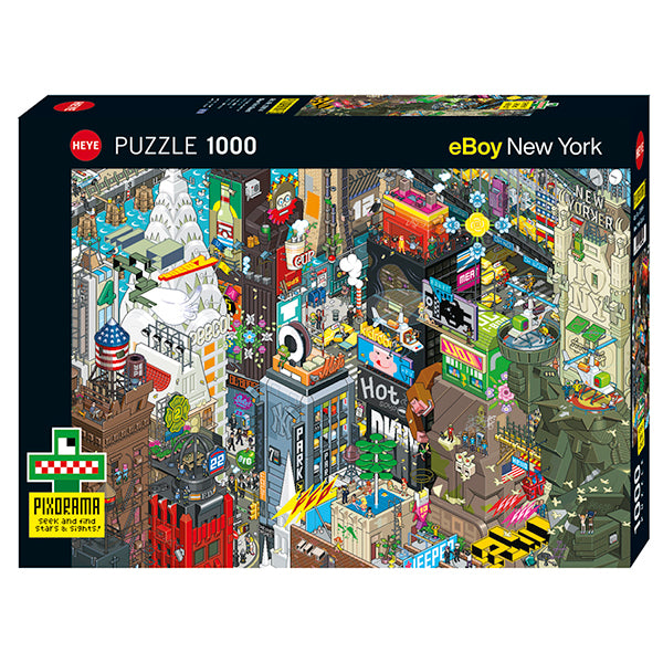 Puzzles- Seek and Find 1000 Pcs